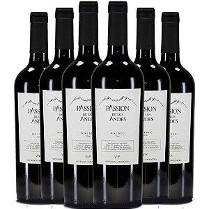 Passion de los Andes Malbec Clasico - 6 garrafas