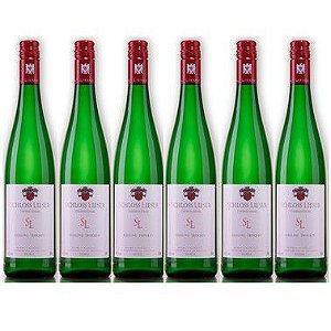 Kit com 6 garrafas: Schloss Lieser Gutswein Riesling seco (Mosel) 2018
