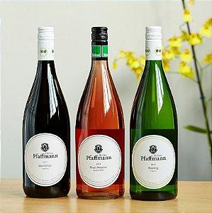 Kit Vinhos de terroir em garrafa de 1 litro