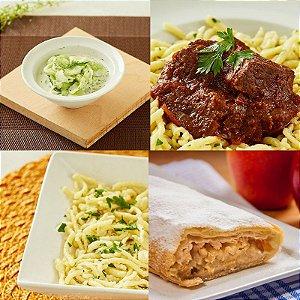 CHEF TOBIAS: Menu da Pfalz - Almoço para 2 pessoas