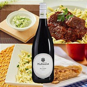 CHEF TOBIAS: Menu da Pfalz harmonizado com o tinto mais típico da região - Almoço para 2 pessoas