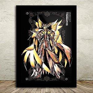 Poster com Moldura - Thanatos Deus da Morte