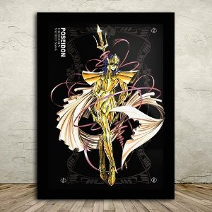 Poster com Moldura - Poseidon