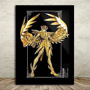 Poster com Moldura - Seiya de Pegasus
