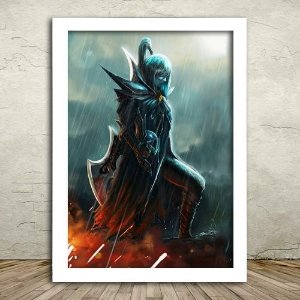 Poster com Moldura - Phantom Assassin Dota 2