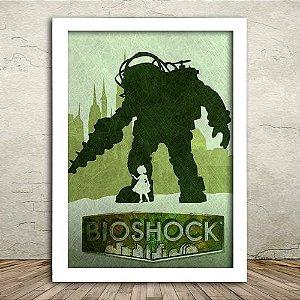Poster com Moldura - Bioshock