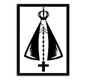 Pôster Com Moldura - Nossa Senhora Aparecida