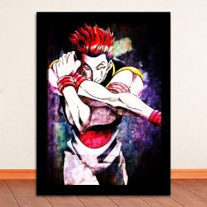 Poster com Moldura - Hisoka Hunter x Hunter