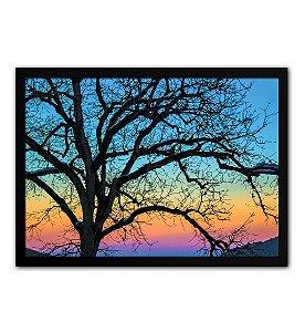 Quadro Decorativo - Árvore Galhos Paisagem