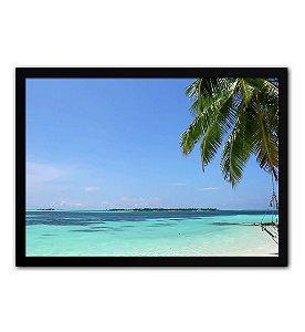 Quadro Decorativo - Praia Vista Do Mar