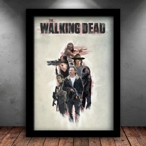 Poster com Moldura - The Walking Dead M.02