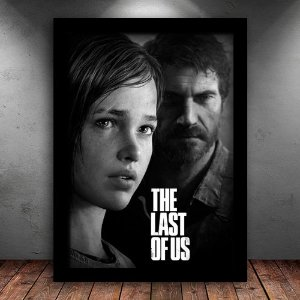 Poster com Moldura - The Last Of Us