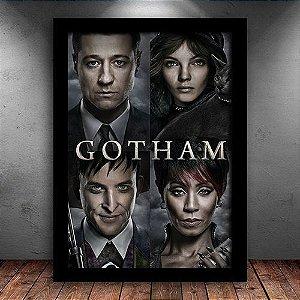 Poster com Moldura - Série Gotham Mod. 1