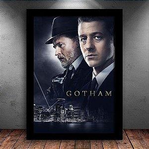 Poster com Moldura - Série Gotham Mod.2
