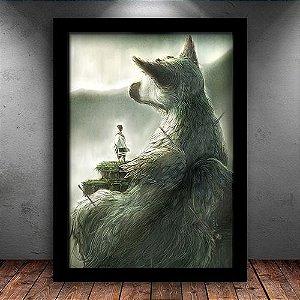Poster com Moldura - The Last Guardian