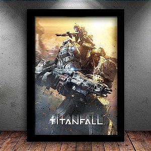 Poster com Moldura - Titanfall