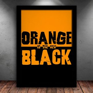 Poster com Moldura - Orange Is The New Black