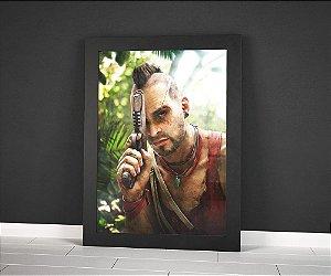 Poster com Moldura - Far Cry Vaas Montenegro