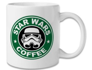 Caneca Geek Star Wars Coffee