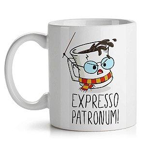 Caneca Geek Harry Potter Expresso Patronum