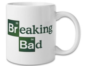 Caneca Geek Série Breaking Bad