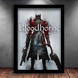 Poster com Moldura - Bloodborne