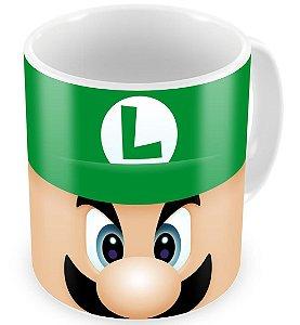 Caneca Geek Luigi