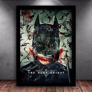 Poster com Moldura - Batman The Dark Knight