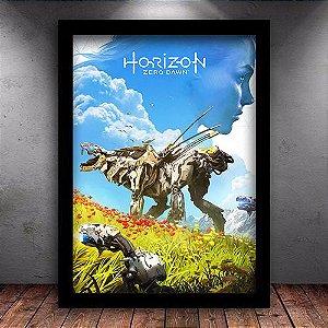 Poster com Moldura - Horizon Zero Dawn M.02