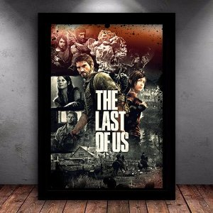 Poster com Moldura - The Last Of Us M.02