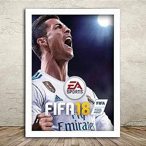 Poster com Moldura - Fifa 18