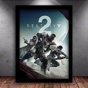 Poster com Moldura - Destiny 2