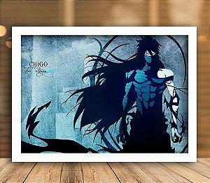Poster com Moldura - Ichigo Final Getsuga Tenshou