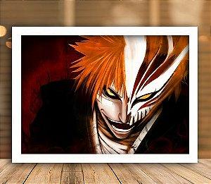 Poster com Moldura - Kurosaki Ichigo Hollow Mask
