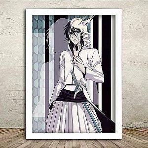 Poster com Moldura -  Ulquiorra Cifer Espada 4
