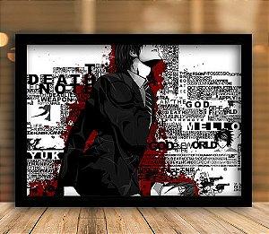 Poster com Moldura - Death Note Mo.2
