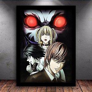 Poster com Moldura - Death Note Mo.3