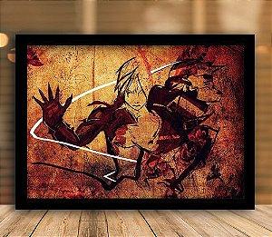 Poster com Moldura - Fullmetal Alchemist