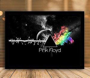 Poster com Moldura - Pink Floyd