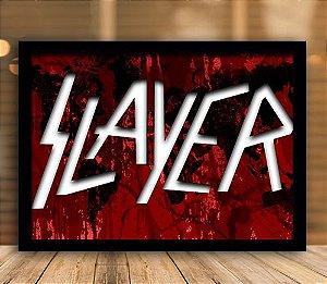 Poster com Moldura - Slayer
