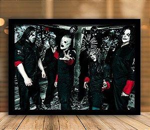 Poster com Moldura - Slipknot
