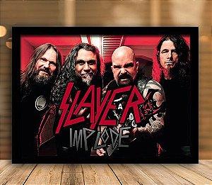 Poster com Moldura - Slayer Mo.2