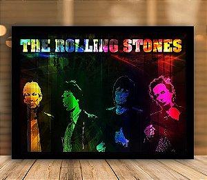 Poster com Moldura - The Rolling Stones