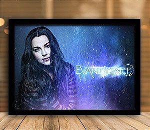Poster com Moldura - Evanescence