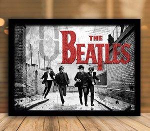 Poster com Moldura - The Beatles
