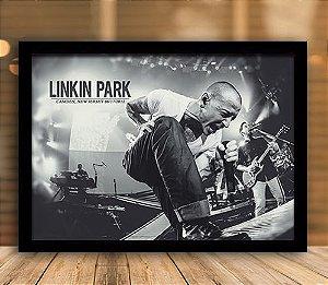 Poster com Moldura - Linkin Park Mo.2