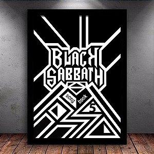 Poster com Moldura - Black Sabbath