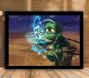 Poster com Moldura - League of Legends LoL Amumu