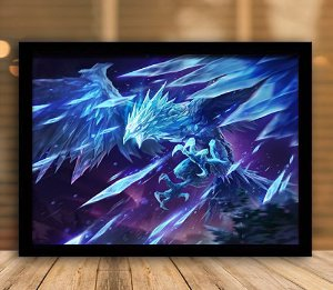 Poster com Moldura - League of Legends LoL Anivia