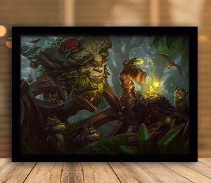 Poster com Moldura - League of Legends LoL Ivern